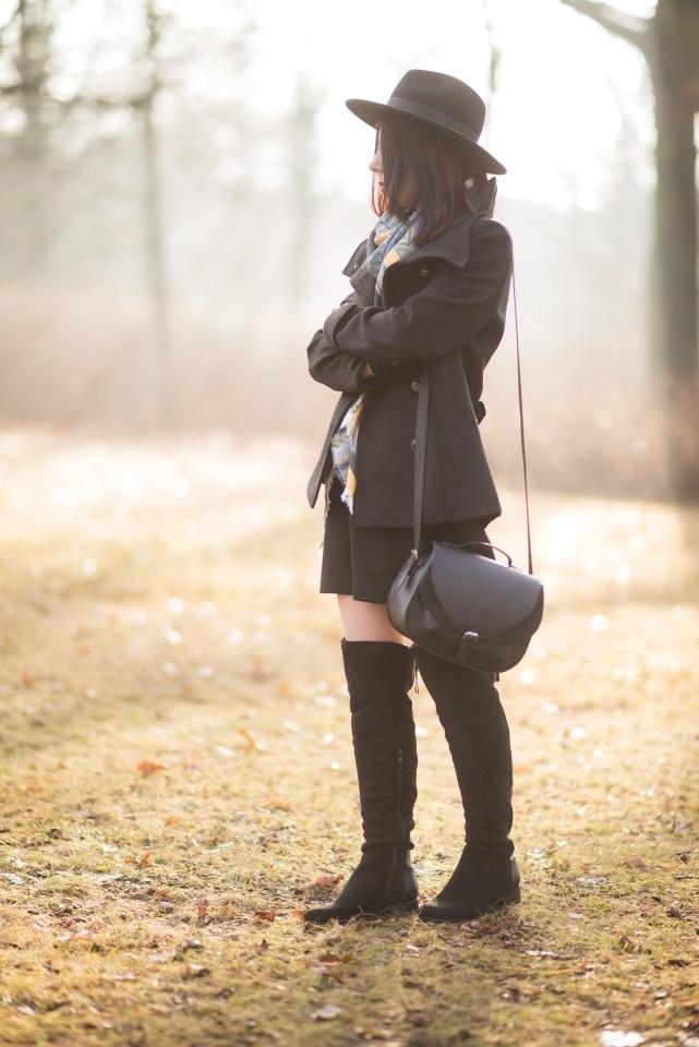 jak nosić muszkieterki? | muszkieterki w boho stylizacji | muszkieterki na jesień | muszkieterki z zamszu | kozaki za kolano | styl boho | blog o modzie | blog szafiarski | blogerka radzi | blogerka z Łodzi