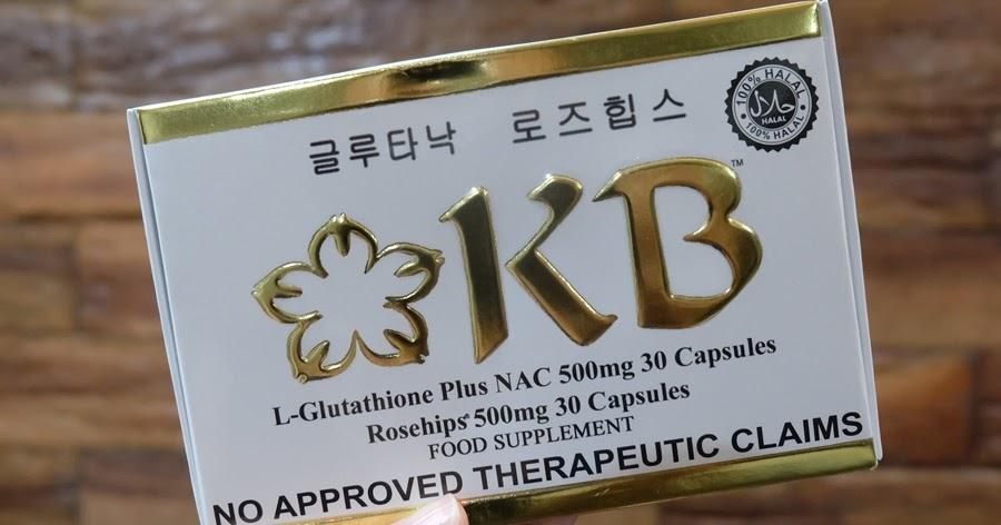 Revisão do produto: Glutationa KB + NAC (KB GlutaNAC) e Rosehips (Glutationa Kyusoku Bihaku)   Querida Kitty Kittie Kath 1