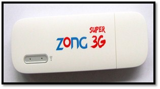 Zong 3G USB Dongle