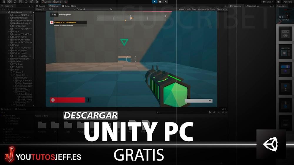 Como Descargar Unity Gratis para PC
