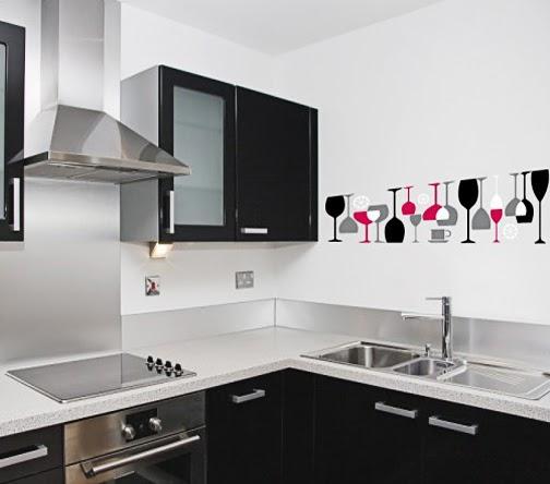Lirolhaus decoraci n de espacios en bogot vinilos for Cenefas para cocina