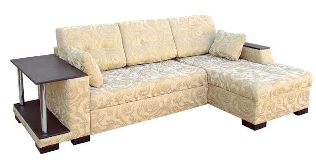 Corner Sofa With Spring BLock