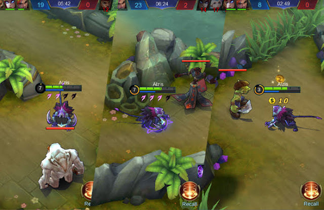 Monster dengan Healing Buff Mobile Legends