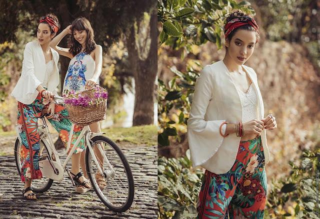 Moda primavera verano 2019. Ropa de mujer bho urbano estilo 2019.