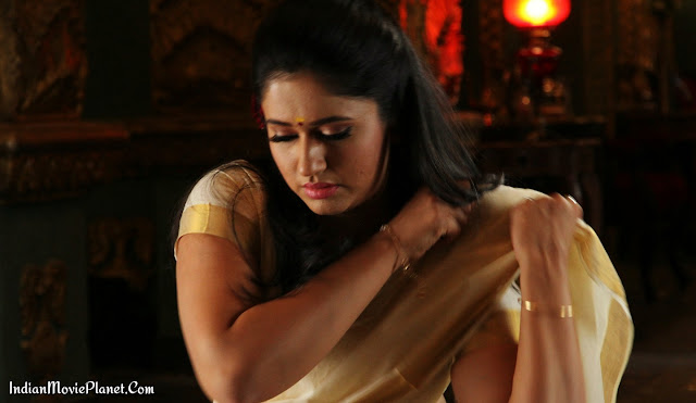 poonam bajwa hot stills white saree navel cleavage