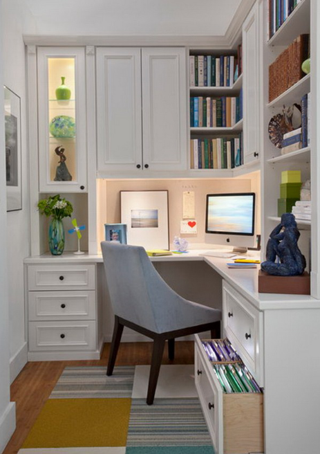 HOME OFFICE DESIGNS FOR SMALL SPACES