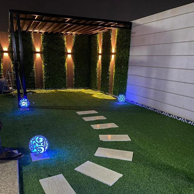 إنشاء حديقة منزلية في جيزان