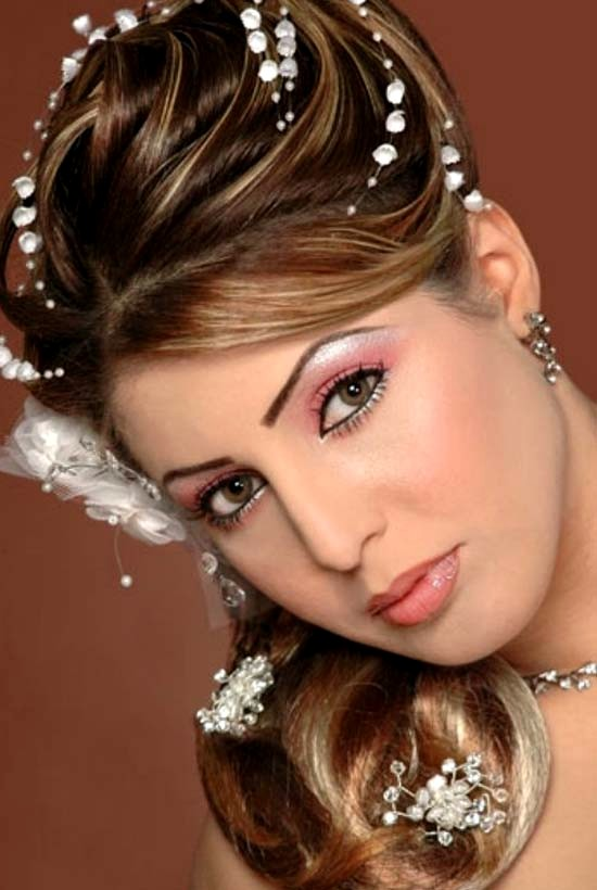 Hair style for indian girls for wedding