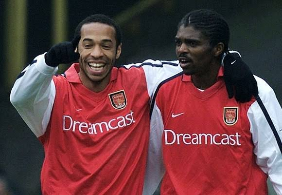 Chei! Arsenal FC celebrates Nigeria@60, excites Nigerian gooners and Super Eagles fans with video of Kanu's exploits (video)