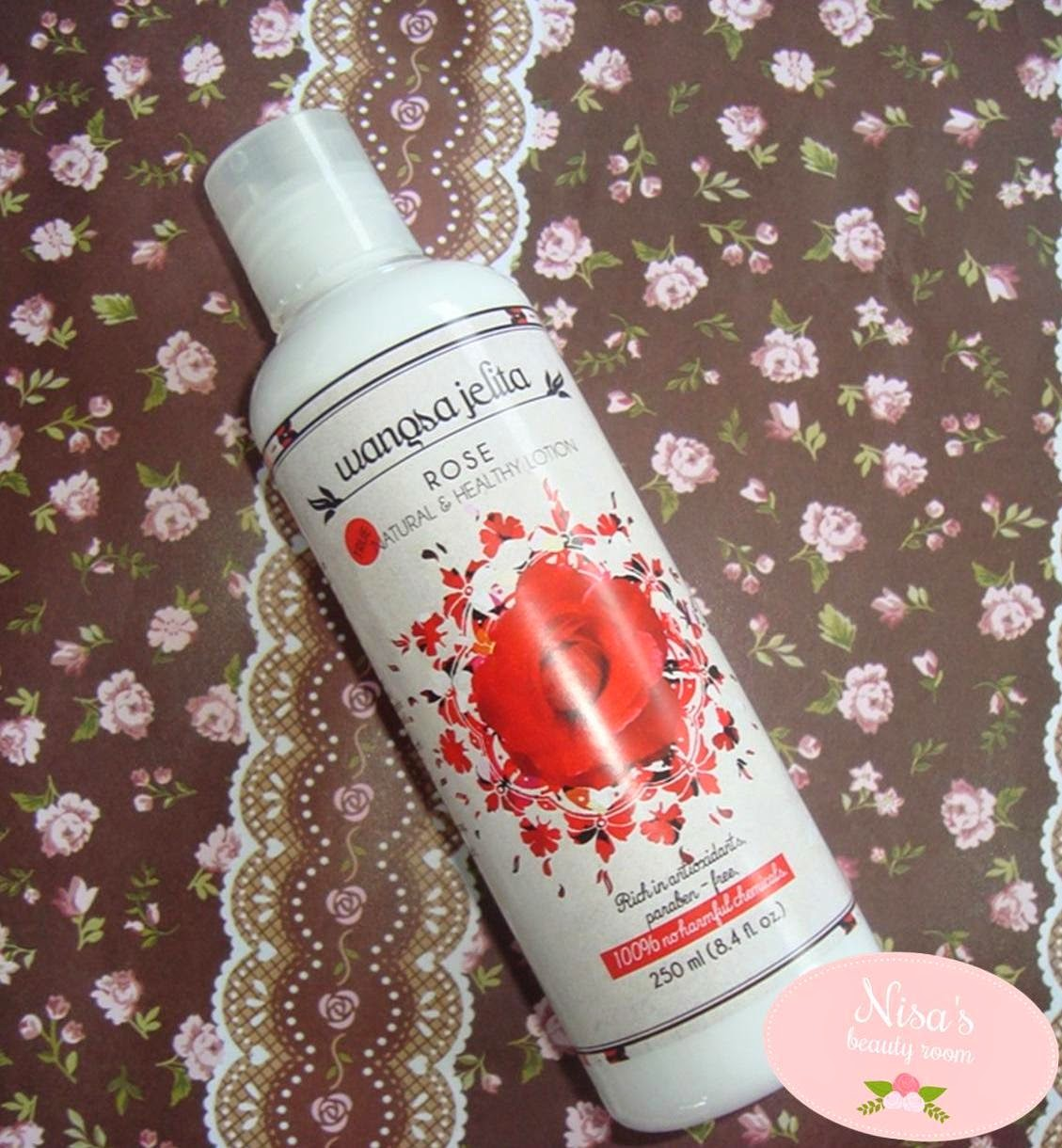 Wangsa Jelita Rose True Natural and Healthy Lotion