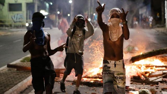 Brasil é o país mais violento do mundo e tem mais mortes até do que países em guerra