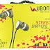 Ubon Stereo Earphone UB-603 Big daddy Bass (In-Ear)(Black, White)