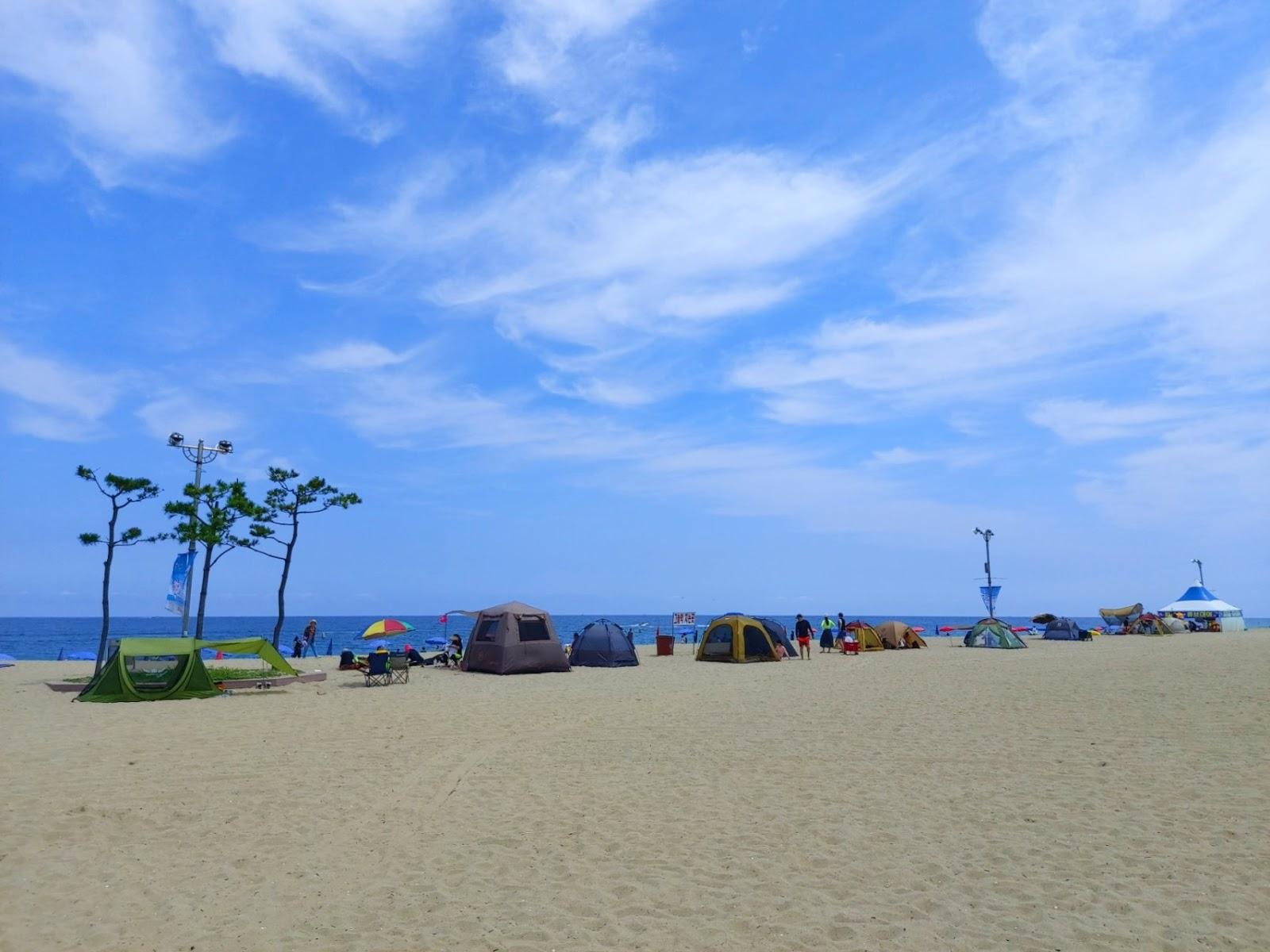 Bãi biển Naksan (낙산해수욕장) ở quận Yangyang, tỉnh Gangwon (강원도 양양군) - Địa Điểm  Hàn Quốc