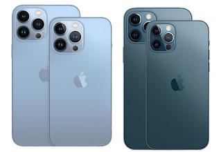 مقارنة بين آيفون iPhone 12 Pro Max و 13 Pro Max