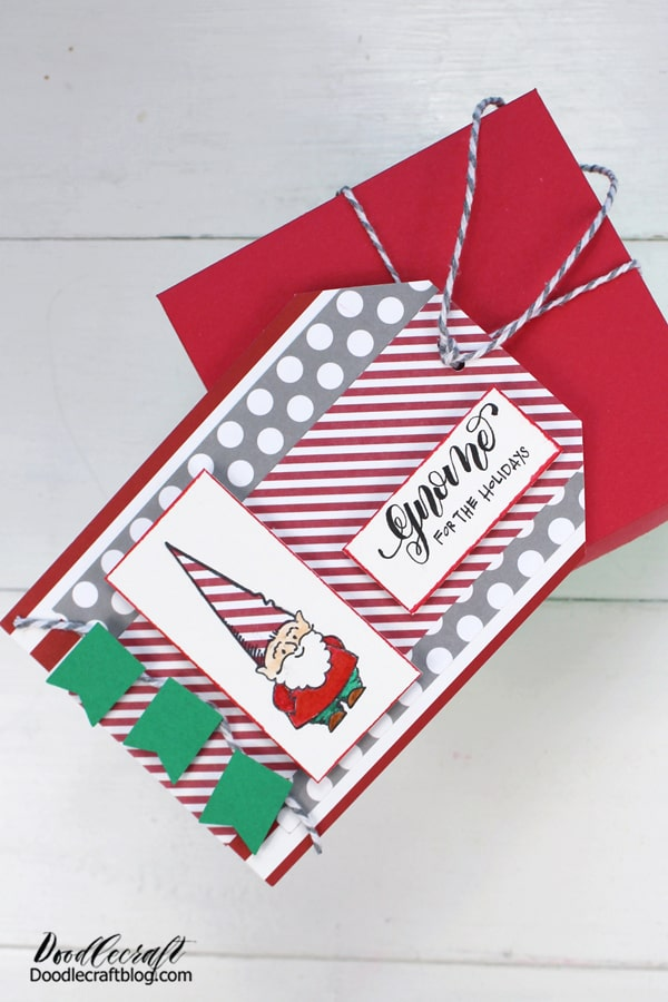 This explosion box is a fabulous handmade gift and a big, unexpected surprise! It's packed full of treats, but it could also contain small gifts or a gift card too. Once the lid is removed, it's tricky to get everything back inside, making it a very memorable gift!