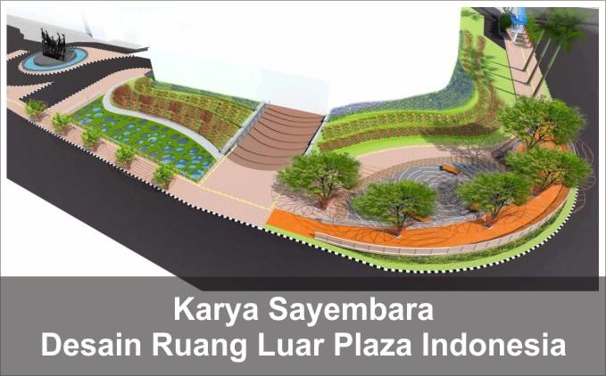 desain ruang publik plaza indonesia