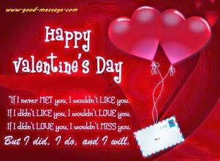 vallentine day messages