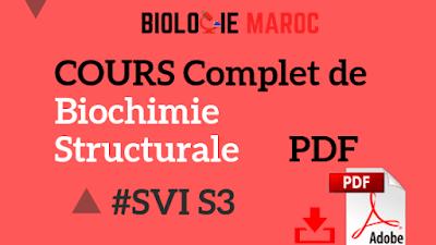 Cours de Biochimie Structurale SVI Semestre S3 PDF