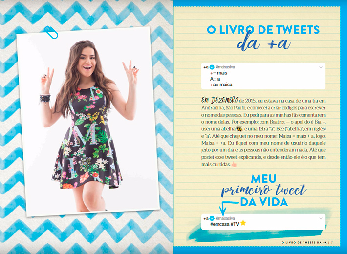 Resenha: O Livro de Tweets da +A, de Maisa Silva