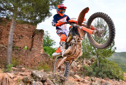 KTM 250 EXC-F 2017 Test - Small but big engine