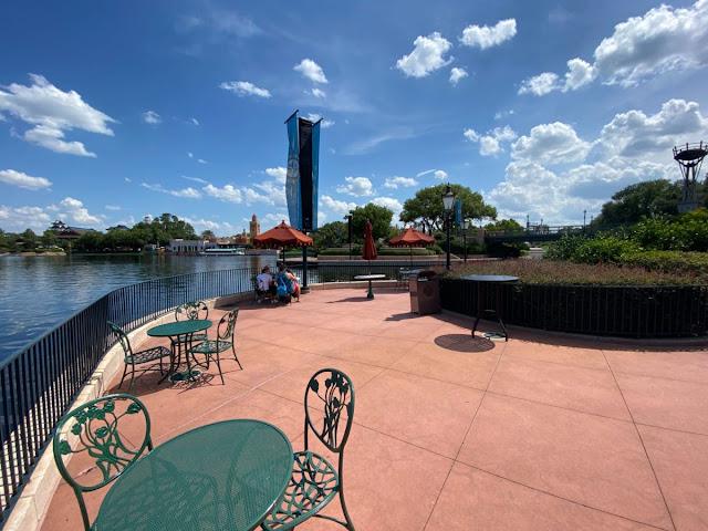 Relaxation Station United Kingdom Pavilion Phased Reopening EPCOT Walt Disney World Resort