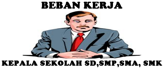 Peraturan Menteri Pendidikan Dan Kebudayaan Republik Indonesia Nomor  Beban Kerja Kepala Sekolah SD,SMP,SMA,SMK Terbaru