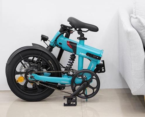 Himo Z16: bicicleta eléctrica con panel a prueba de agua y autonomía de 80 km