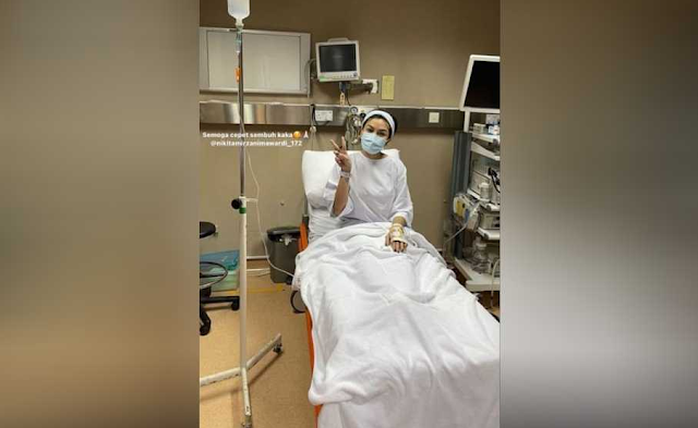 GEGER! Tiba-tiba PINGSAN, Nikita Mirzani DIVONIS Derita Sakit Ini Hingga HARUS Jalani OPERASI