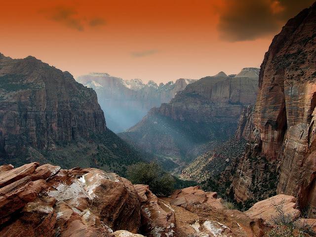أجمل صور خلفيات الجبال والهضاب
