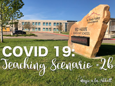 COVID-19: Teaching Scenario #2b {Online Teaching, The Instruction}