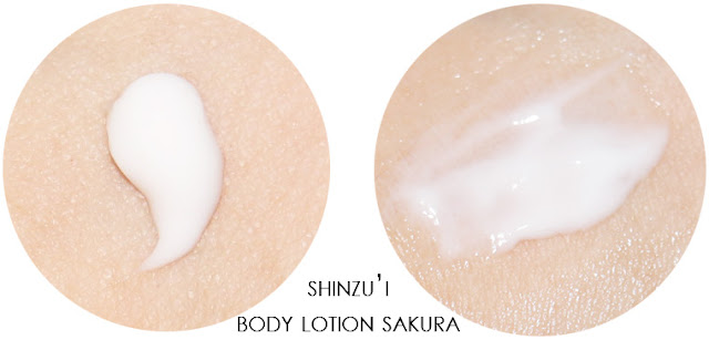 shinzui body lotion sakura