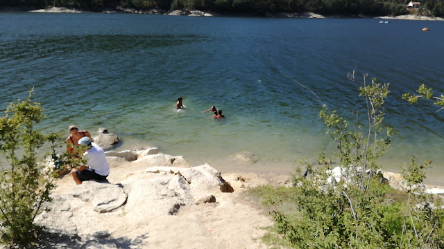 águas cristalinas do Rio Cávado