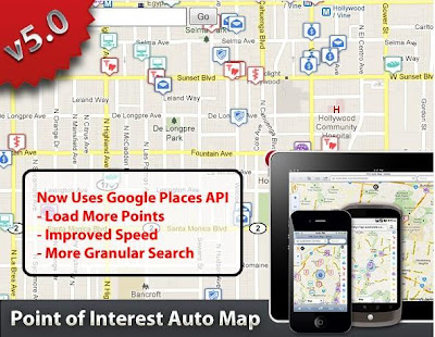 Codecanyon Point Of Interest (POI) Auto Map v.5.0