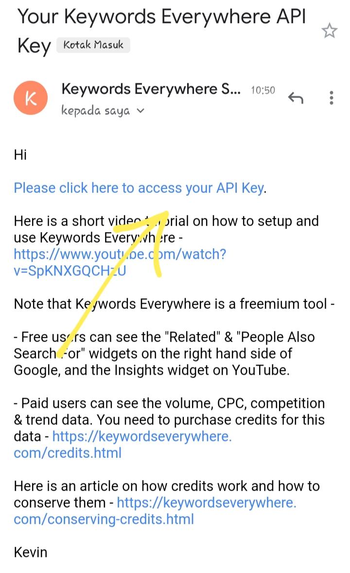 Cara memasang keyword everywhere di android