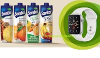 Logo Concorso ''Santal assapora la frutta 2020'' :vinci 5 Apple Watch Series 5 GPS + Cellular ( valore 559 euro)