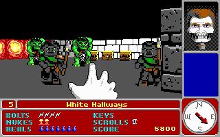 Videojuego Catacomb 3-D - 1991
