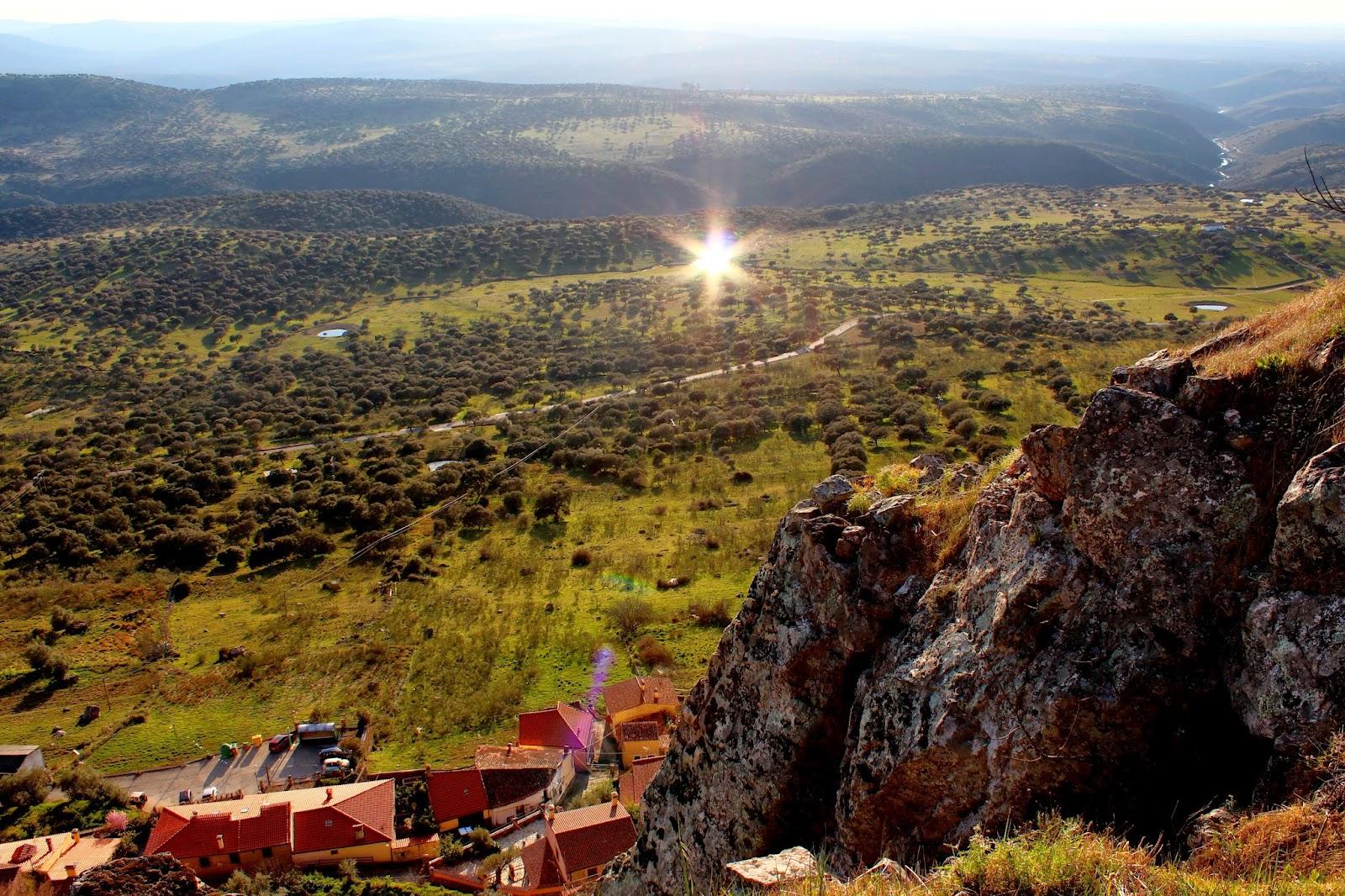 Dehesas en Cabañas del Castillo (Cáceres)