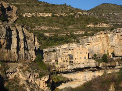 Sant Miquel del Fai monastery in Barcelona