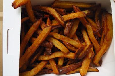 Phat Burger Bro., fries