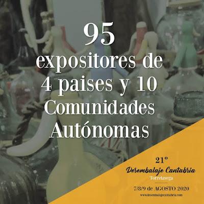 95 expositores en el desembalaje de Cantabria en Torrelavega