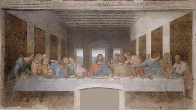 The Last Supper, by Leonardo da Vinci.