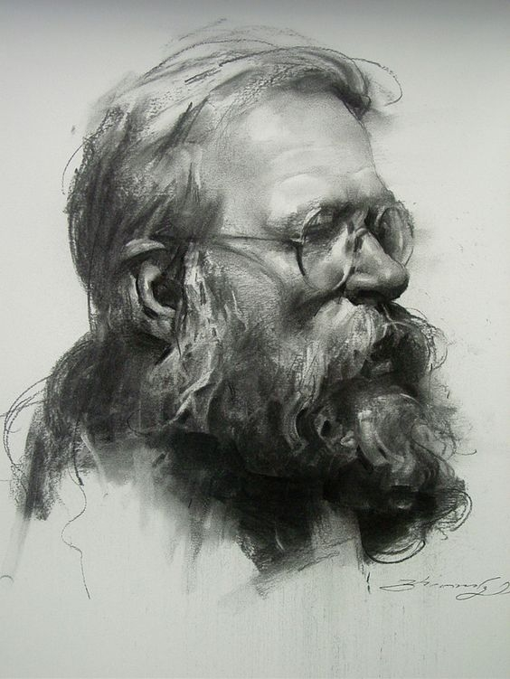 01-Zhaoming-Wu-Our-Essence-Captured-in-Charcoal-Portrait-Drawings-www-designstack-co