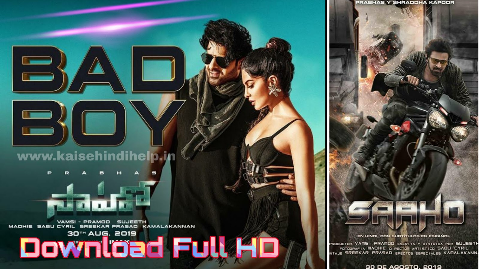 How To Download Saaho Full Movie In Hindi HD 1080p