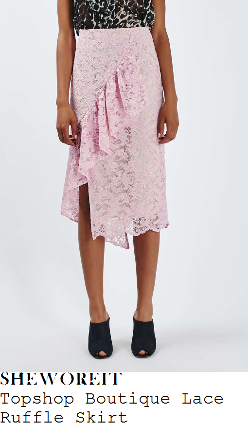 rosie-fortescue-topshop-boutique-pale-lilac-pink-sheer-floral-lace-overlay-ruffle-frill-detail-high-waisted-wrap-front-midi-skirt