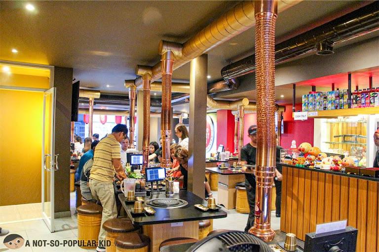 Interior of Yoshimeatsu Taft, Manila
