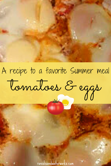 egg dinner recipes; different egg recipes to try; sicilian tomato and egg recipe
