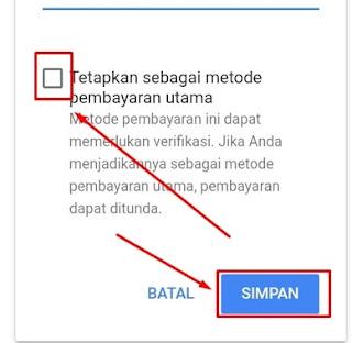 Pembayaran Utama Google AdSense