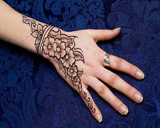 Arabic Mehndi Designs For Hand : Mehndi designs for girls beautiful and simple arabic