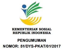 REKRUTMEN PENDAMPING SOSIAL KOMUNITAS ADAT TERPENCIL PROFESIONAL  KEMENTERIAN SOSIAL REPUBLIK INDONESIA TAHUN 2017