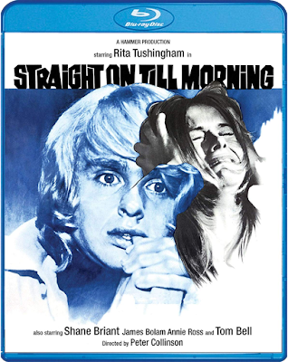 Blu-ray Cover for Scram Factory's Blu-ray of STRAIGHT ON TILL MORNING.